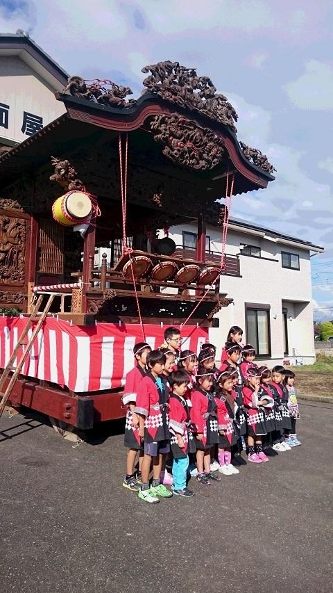 中野面秋祭り 2015準備4  子供たち - コピー.JPG