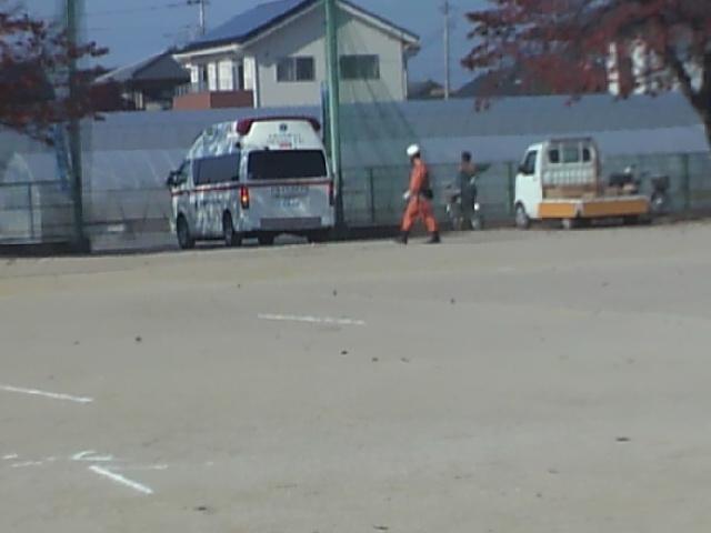 ハプニング  救急出動(2).JPG