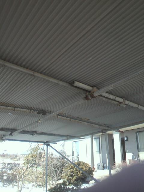 車庫の修理20140222⑦.jpg